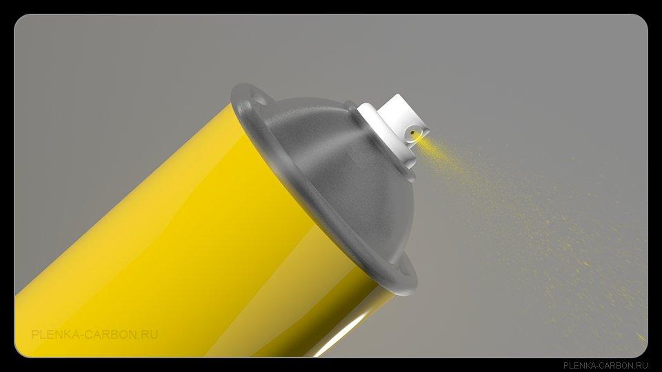 Баллончик с краской для покраски пластика 106
