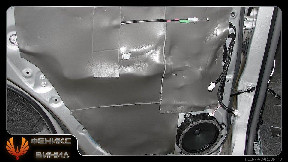Как проклеить машину шумоизоляцией своими руками ваз 2114