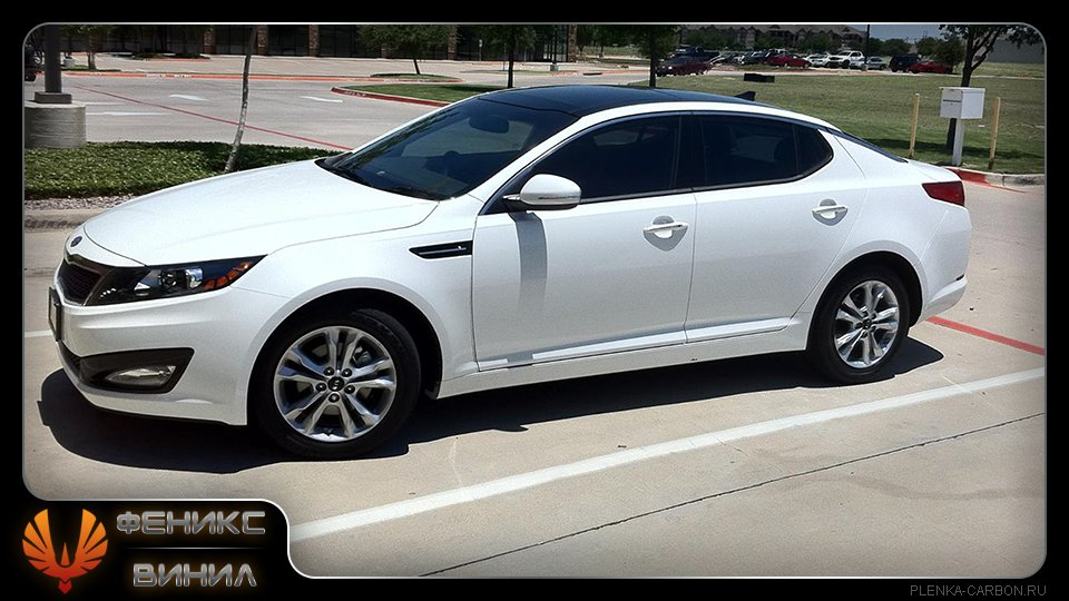 Тонировка белого автомобиля фото